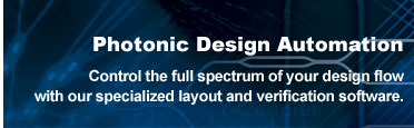 photonics design automation software program, photonic circuit design